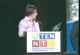 Still frame from: 09NTC plenary: Eben Moglen