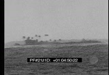 Still frame from: US Navy Blast Marshall Islands