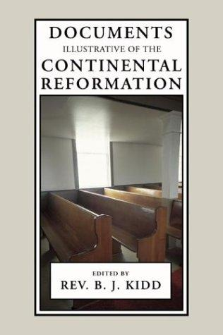 Download Documents Illustrative of the Continental Reformation