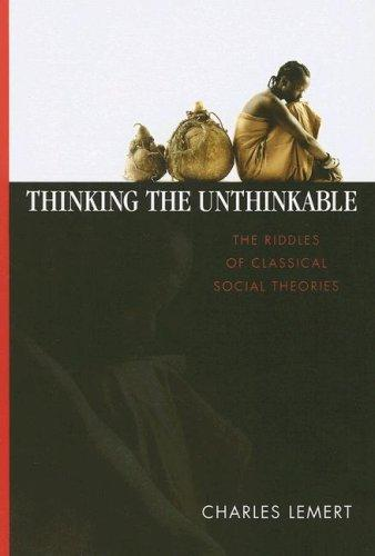 Download Thinking the Unthinkable