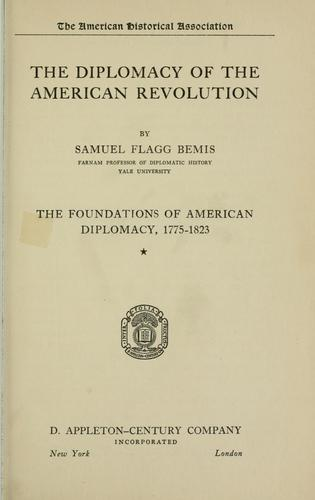 Download The diplomacy of the American Revolution