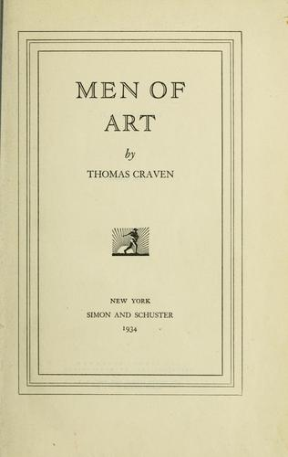 Download Men of art