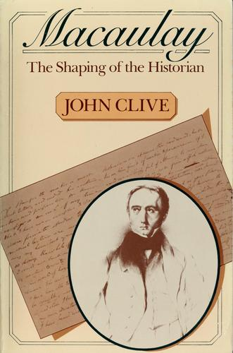 Download Macaulay, the shaping of the historian