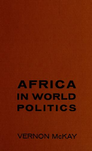 Africa in world politics.