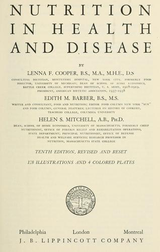 Download Nutrition in health and disease