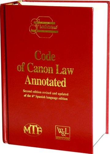 Code of canon law annotated