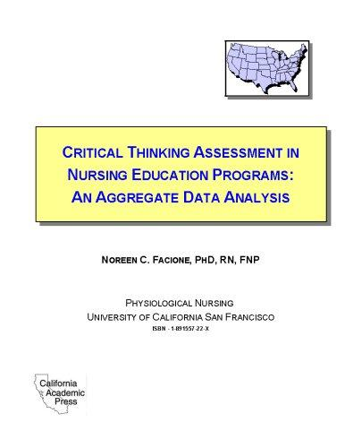 Download Critical thinking assessment in nursing education programs