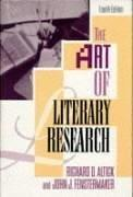 Download The art of literary research