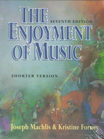 enjoyment of music by joseph machlis