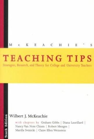 Download McKeachie's teaching tips