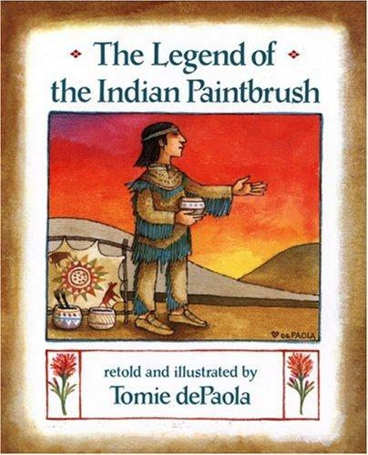 Download The legend of the Indian paintbrush