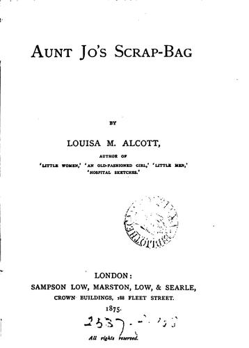 Download Aunt Jo's scrap-bag