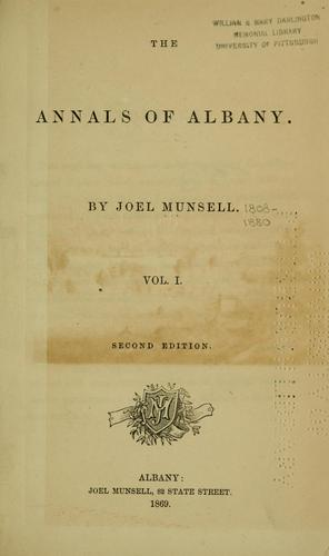 Download The annals of Albany