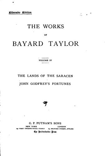 Download The Works of Bayard Taylor