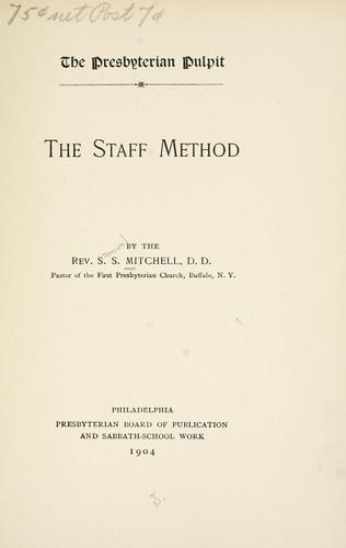 Download The staff method