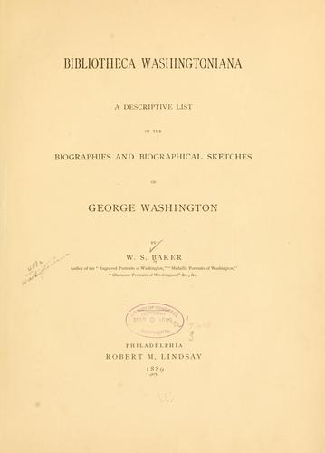 Bibliotheca Washingtoniana