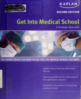 Cover of: Get into medical school by Maria Lofftus