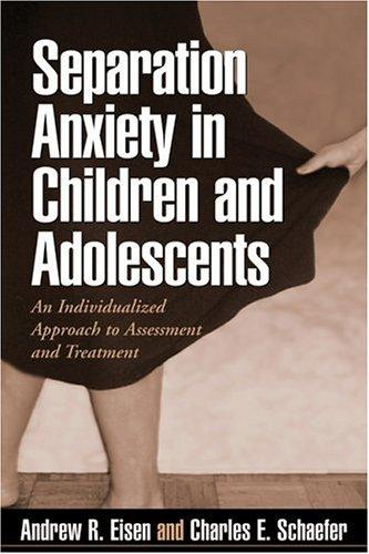Separation anxiety in children and adolescents by