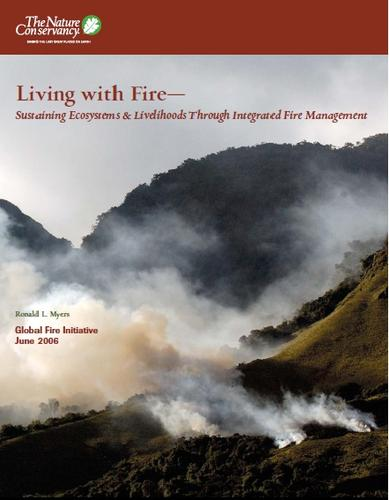Living with fire by Ronald L. Myers