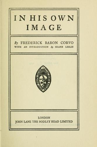 In his own image by Frederick William Rolfe