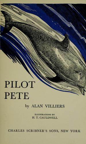 Pilot Pete by Alan Villiers