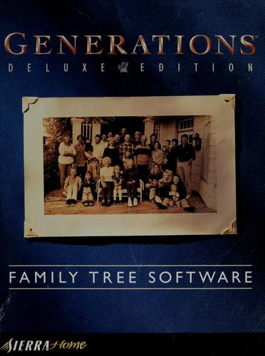 Generations family tree software by Sierra On-Line, Inc