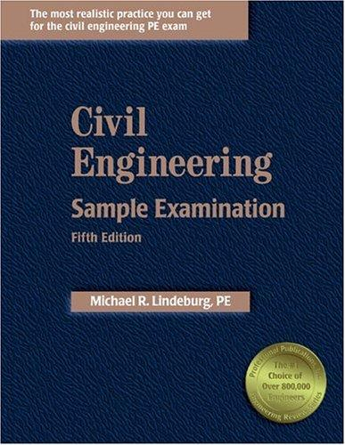 Civil Engineering Sample Examination