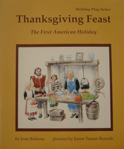 Thanksgiving feast by June Behrens