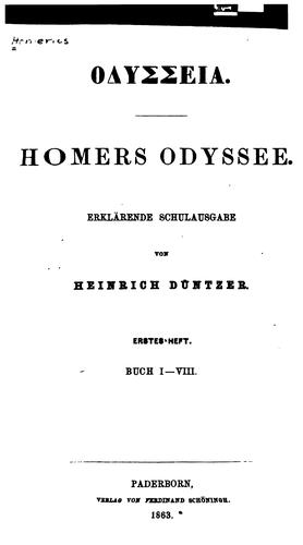 Homers Odyssee by Homer